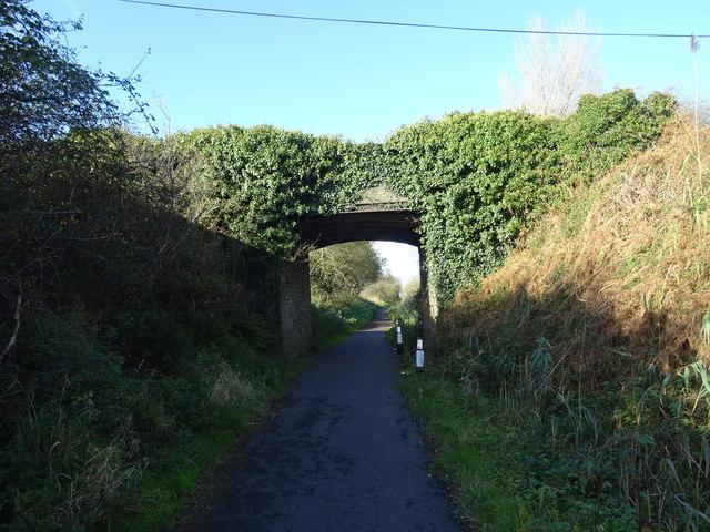 Bridge over the cycleway