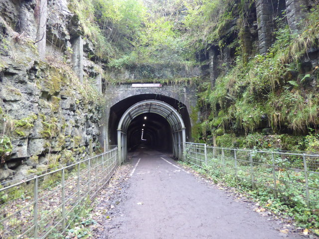 The eastern entrance to Headstone Tunnel