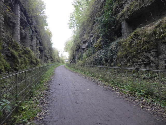 Cutting beyond the eastern entrance to Headstone Tunnel