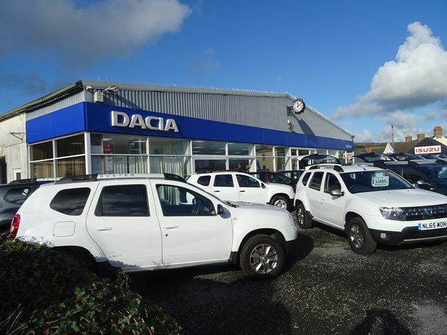 Gravells Dacia Kidwelly