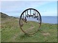 "NZ6921 : The ""Huntcliff Circle"" by Richard Farrington by Oliver Dixon"