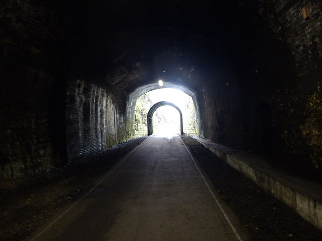 Looking to the eastern entrance to Headstone Tunnel