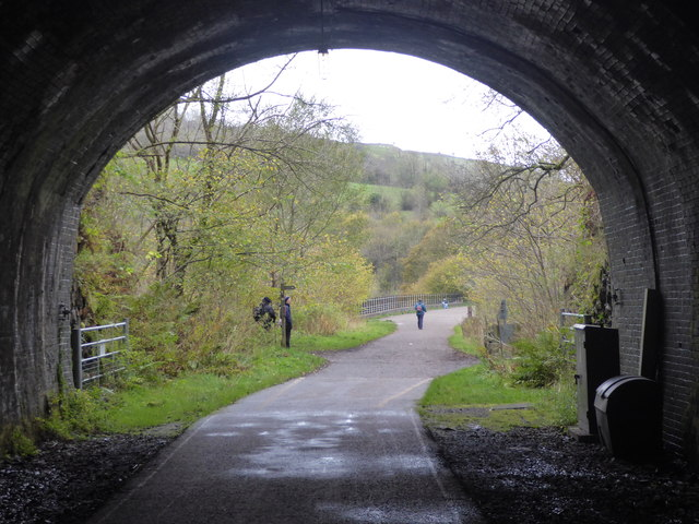 Looking to the western entrance to Headstone Tunnel