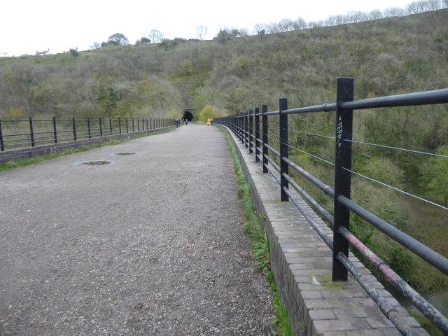 Crossing Monsal Viaduct