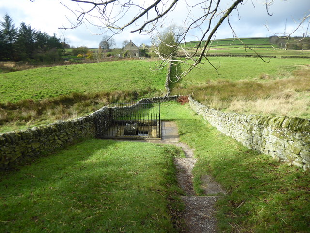 Mompesson's Well near Eyam