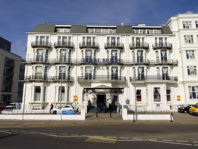 The Royal Beach Hotel on South Parade