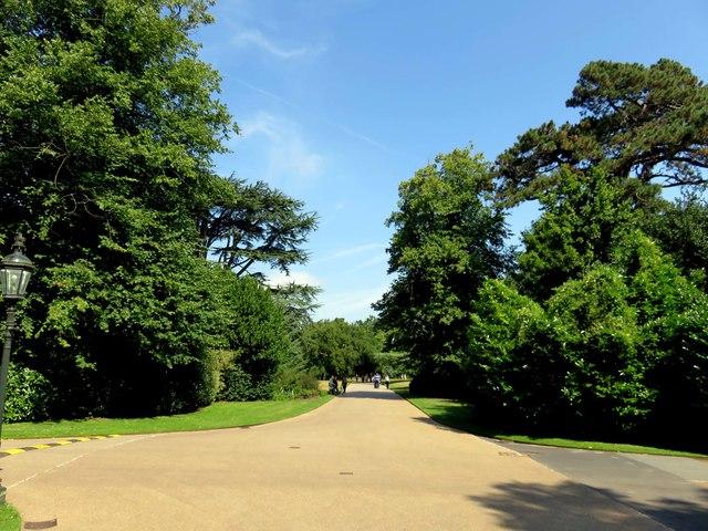 A path to Osborne House