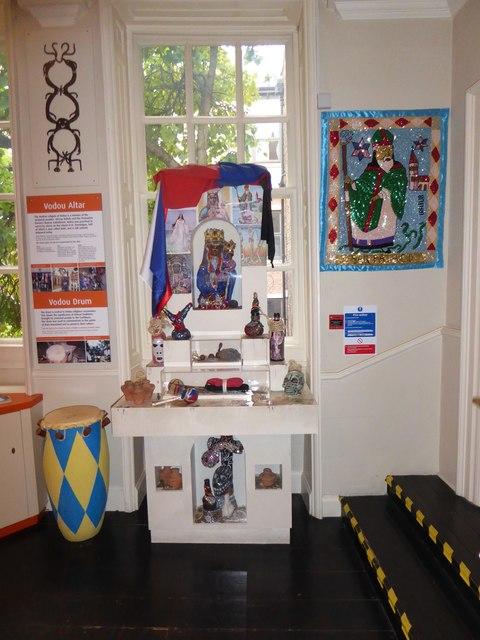 Seen inside Wilberforce House (b)