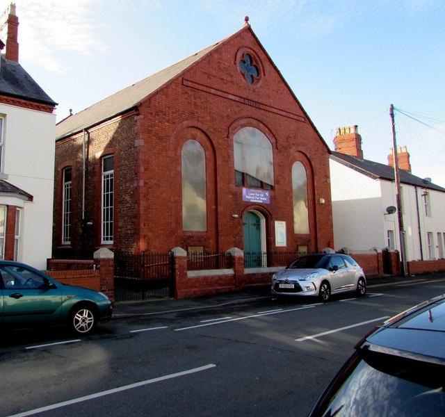 Salem Chapel, Warren Road, Rhyl
