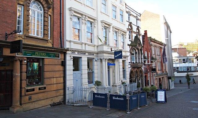 Low Pavement, Nottingham, NG1 by David Hallam-Jones