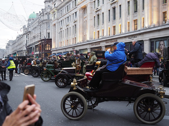 Regent Street - Car Rally