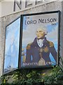 TQ3104 : Lord Nelson sign by Oast House Archive