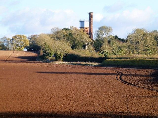 Appleton Water Tower near Sandringham, Norfolk