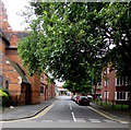 SO8554 : Leafy Spring Gardens, Worcester by Jaggery