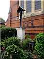 SO8554 : Calvary on the east side of St Paul's Church, Worcester by Jaggery