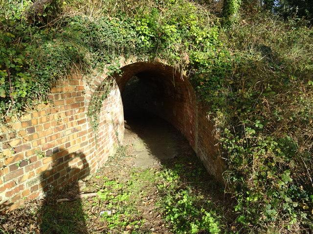 HMF Pembrey - Cordite production enclosure entry tunnel