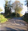 SO3620 : Dead end side road in Llangattock Lingoed by Jaggery