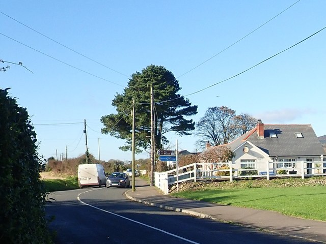 The Templetown Road junction at Annaville