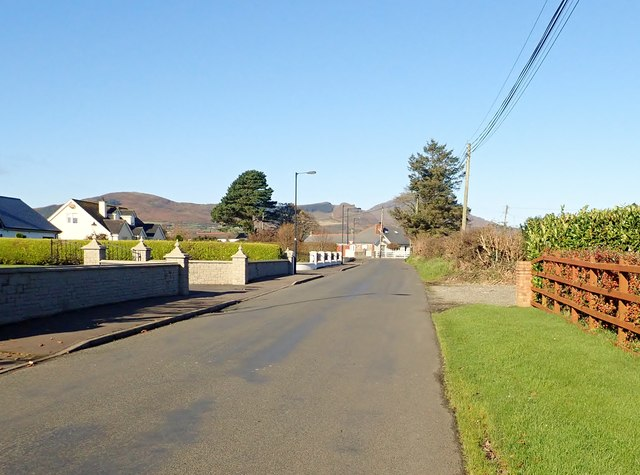 The northern end of Templetown Road, Annaville