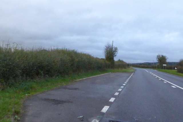 Lay-by by A49 south of Longnor