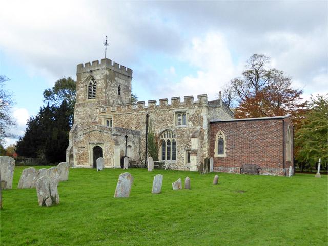 Hinxworth church