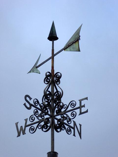 Weather vane, Hinxworth church