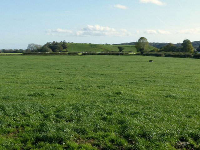 View from Saltbrook Lane towards Row Hill