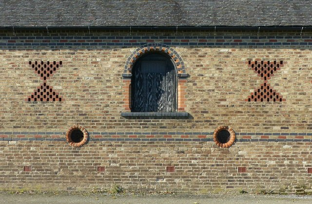 Barn at Fauld Hall, detail