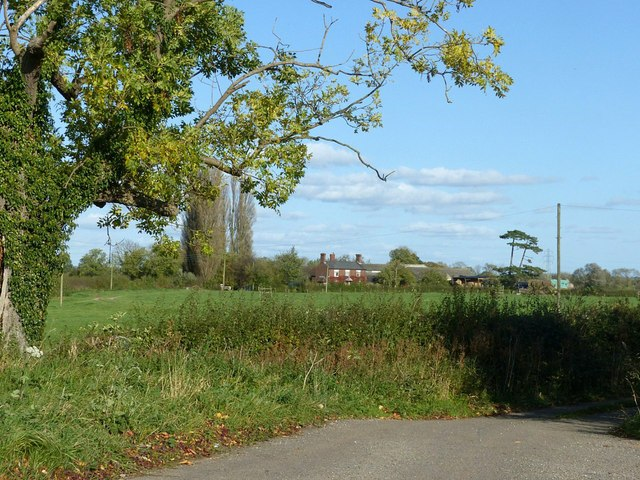 View to Fauld Cottage Farm
