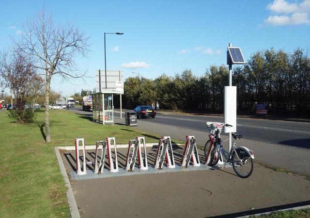 Cycle Docking Station, Sutton Lane