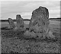 NS0855 : Largizean Standing Stones - Isle of Bute by Raibeart MacAoidh