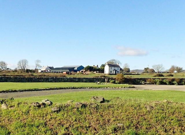 Farm house and outbuildings at Ballynamony (Bradshaw)