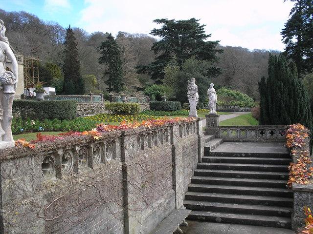 Tyntesfield Estate garden