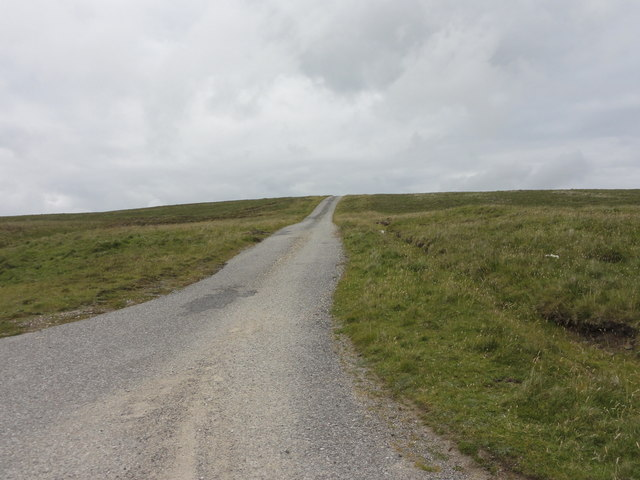 Road leading from B9088 to the Airstrip