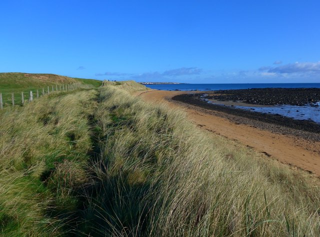 The Fife Coastal path at the East Links