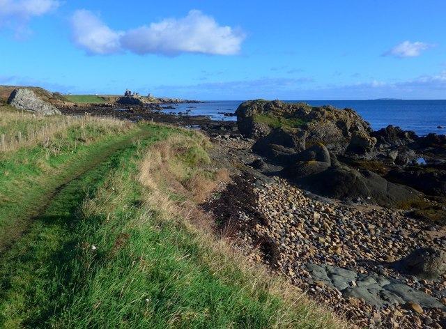 On the Fife Coastal Path