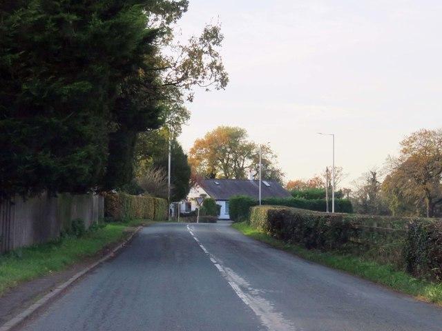 Newsham Hall Lane by Woodplumpton