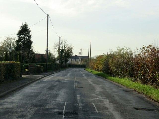 Moorside Lane in Moor Side