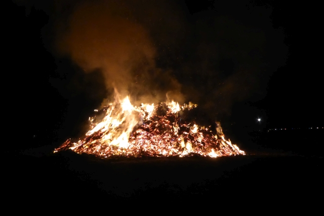 Bonfire at Stillington