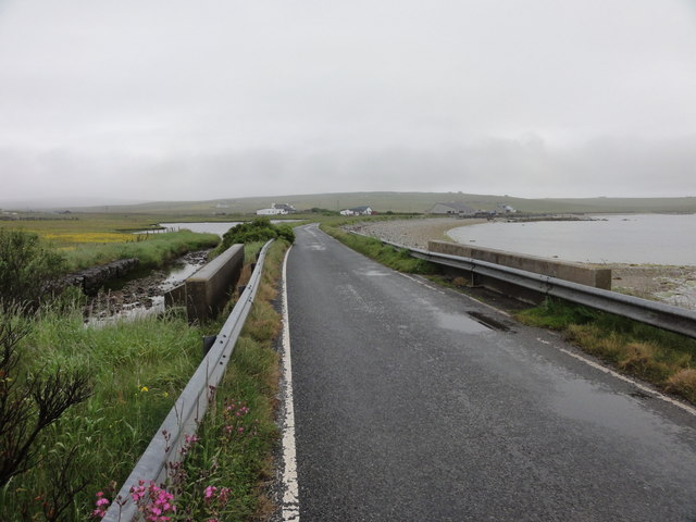 Road by Scata Water