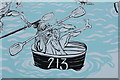 SC2667 : Detail from Castletown mural (1) by Richard Hoare
