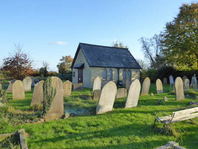 Chapel, Over cemetery