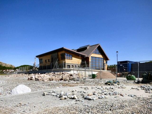 The new lifeboat station at Llandudno