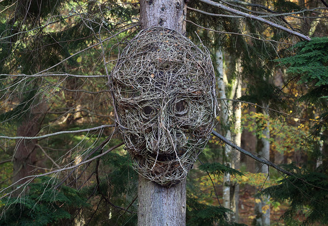 Artwork on the Bowhill Estate