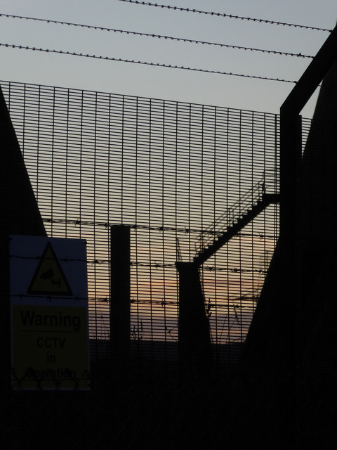 Eggborough Power Station from Wand Lane