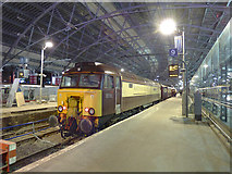 SJ3590 : Charter train in platform 9 at Lime Street by Stephen Craven