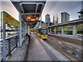 SJ8097 : MediaCityUK Metrolink Stop by David Dixon