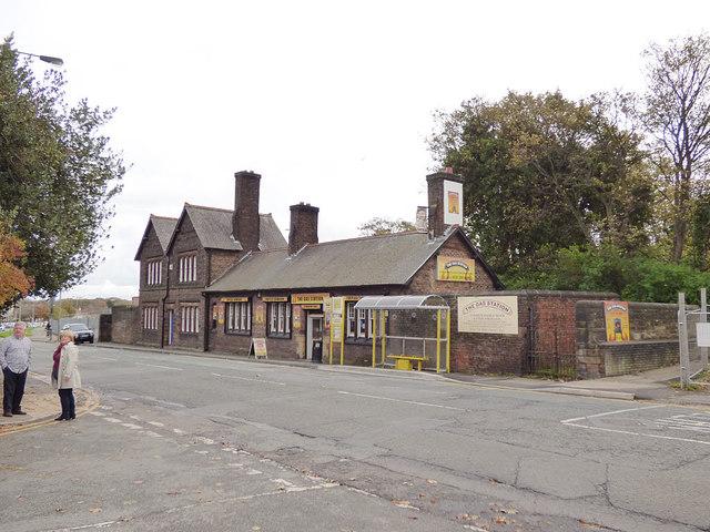 Former station building, Mill Lane, West Derby