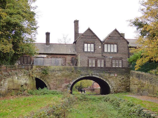 Former West Derby station