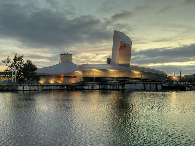 The Imperial War Museum North at Trafford Wharf